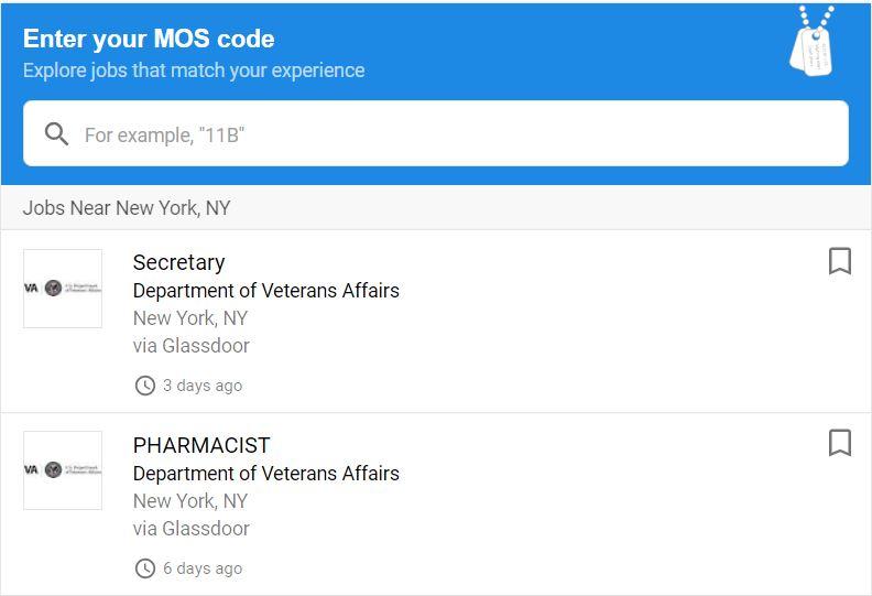 Google Search Tools Help Veterans Find Better Jobs