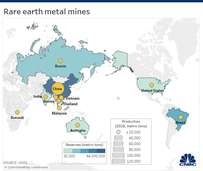 Here's why China's trade war threat to restrict rare earth minerals