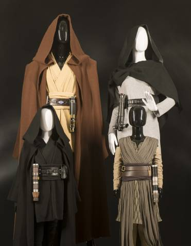 You can buy Jedi robes at Star Wars Galaxy's Edge, but can't