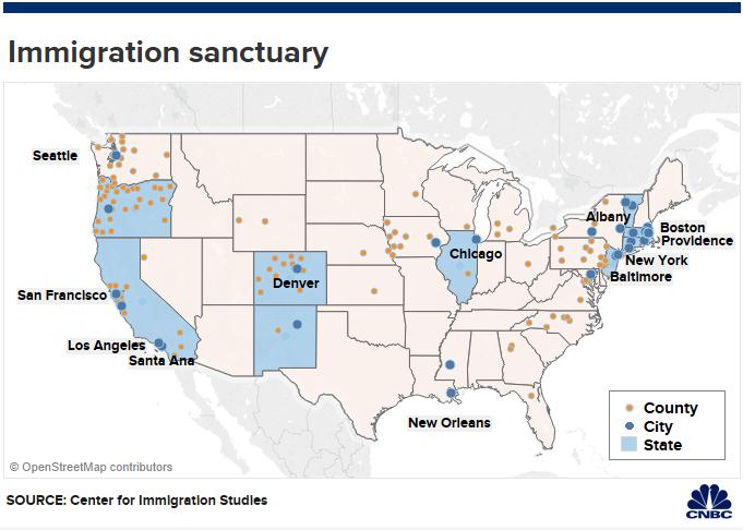 Sanctuary\' policies won\'t stop Trump\'s deportation plans