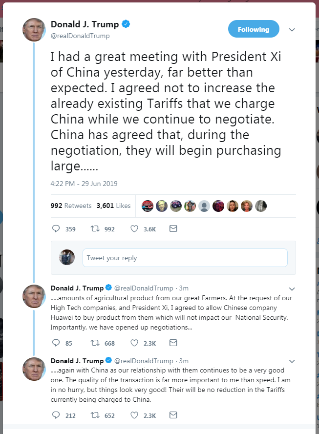 Trump says 'there can be no discount within the tariffs' imposed in opposition to China 1