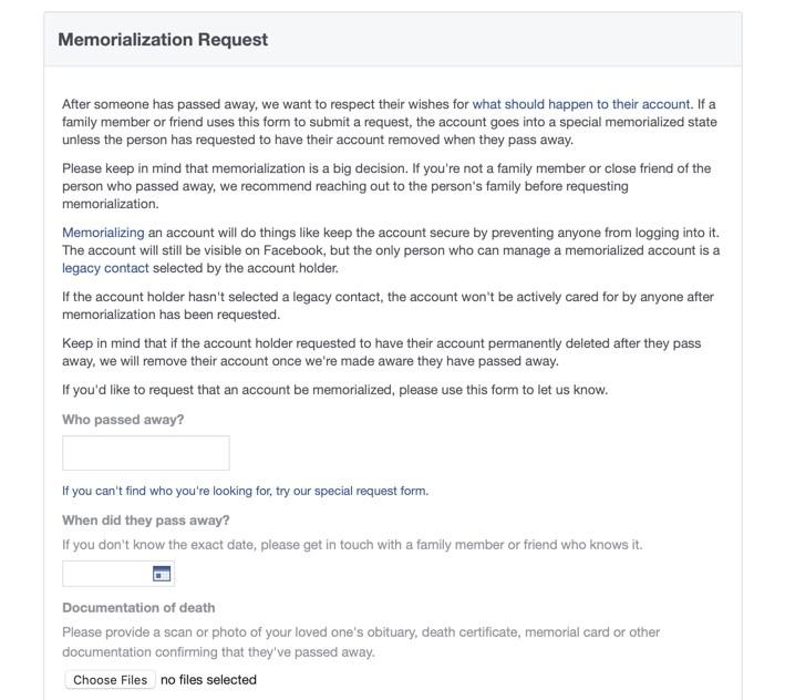 Facebook still highlighting dead relative's birthday? Here's